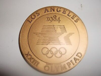 Olympic participation medal los angeles 1984