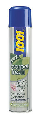 1001 Carpet Fresh Pet Eliminates Odours with Thai Orchid Fragrance Quick Drying