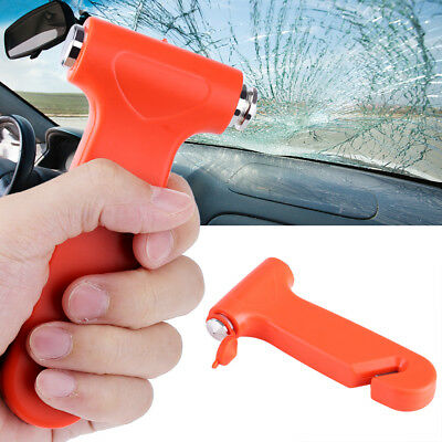 Emergency Safety Escape Hammer Car Window Glass Breaker Seat Belt Cutter Tool ZY