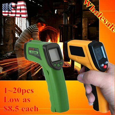 Lot Temp Meter Temperature Gun Non-contact Digital Laser Infrared IR Thermometer