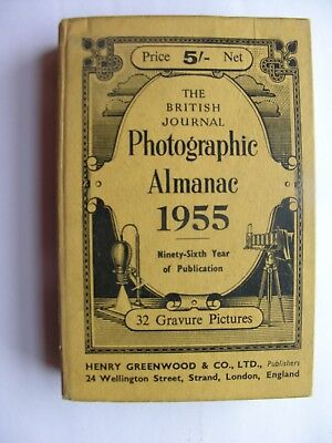 1955 THE BRITISH JOURNAL PHOTOGRAPHIC ALMANAC BJP Hardback Arthur J Dalladay VGC