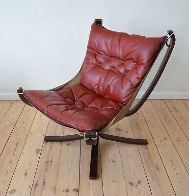 Danish Mid-Century Falcon Chair By Sigurd Ressell For Vatne Møbler