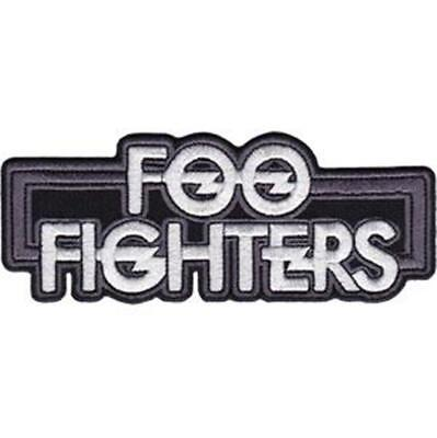 Official Licensed - Foo Fighters - New Logo Sew-On/iron-On Patch Rock Grohl