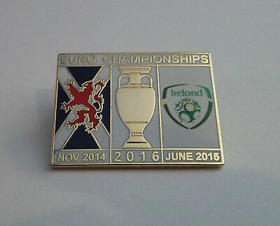 Scotland Vs Ireland 2016 Badge