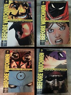 Before Watchmen Graphic Novels 4 Books 1st Editions Rorschach signed Lee Bermejo