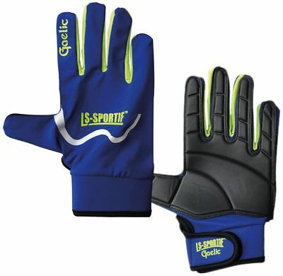 LS-Sportif Famous Gaelic Football Gloves Black Lime