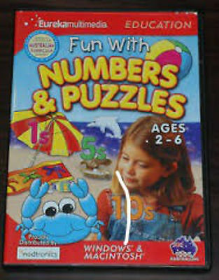 Fun with Numbers & Puzzles Software Game