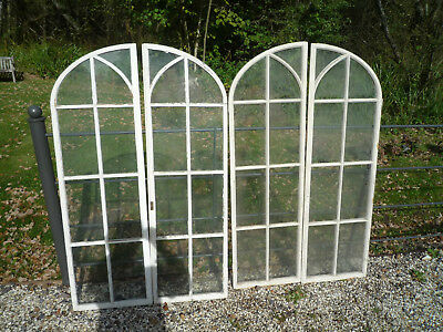 Pair of Arched Pine Windows 2 pairs available Architectural Antiques