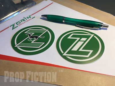 James Bond 007: A View to a Kill - Prop Zorin Stickers / Set Dressing Decals
