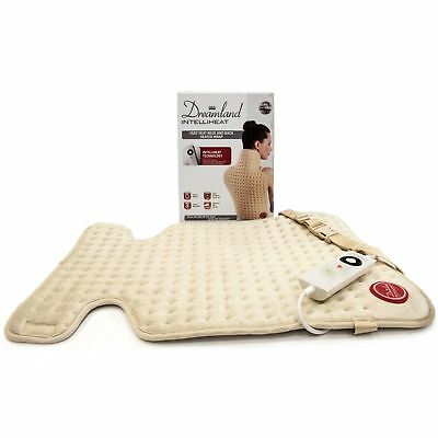 Dreamland Intelliheat Heated Neck & Back Wrap Pad Thermo Therapy Instant Heat Up