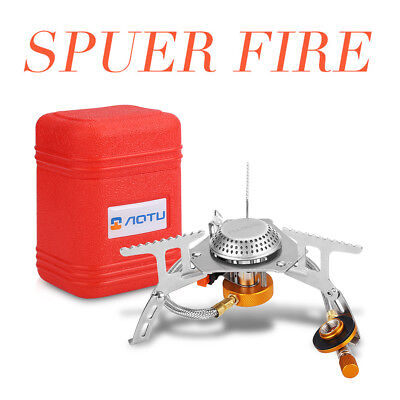 Butane Stove Portable Outdoor Folding 4 Function Gas Stove For Camping Hiking AU