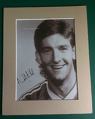 Norman Whiteside  Manchester United & N.ireland Legend Signed Picture In Mount