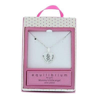 Equilibrium For Girls Mummy's Little Angel/Princess Pendant Necklace Gift Boxed