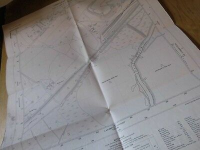"Chislet Colliery & Sw Hersden-Kent-Stour:planners 25"" Map Os Land Tax Register"
