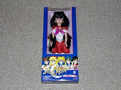 "1996 Irwin Sailor Moon 17"" Sailor Mars Adventure Doll Brand New MIB Blue Box"