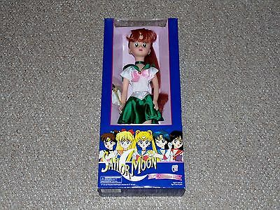 "1996 Irwin Sailor Moon 17"" Sailor Jupiter Adventure Doll Brand New MIB Blue Box"