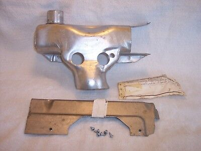 Corvette  C3  Exhaust  Manifold  Heat  Stove  Assembly  #3946832  #367135