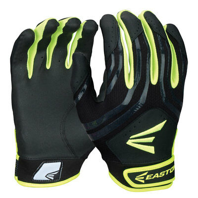 Easton Hyperskin HF3 Fastpitch Batting Goves Women´s Black/Optic Yellow pair