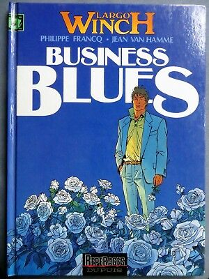 Francq / Van Hamme : Largo Winch, Business Blues, Dupuis 1993