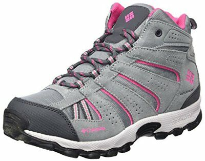 Columbia Youth North Plains Mid Waterproof, Chaussures de Randonnée Hautes Fill