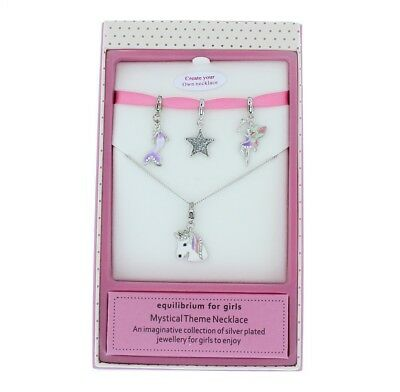 Equilibrium For Girls Mystical Theme Build Your Own Charm Necklace - Gift Boxed