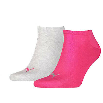 Puma Ladies Multisport Sneaker Socks 2 Pairs Sport Golf Fitness Trainer No Show