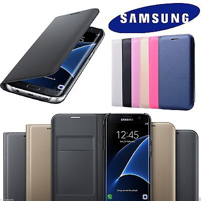 Luxury Leather Card Holder Wallet Flip Case Cover for Samsung Galaxy S8 S9 A6 J6