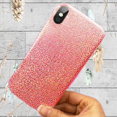 For iPhone X 10 Ten Slim Glitter Ray Bling Sparkle Shockproof Rubber Cover Case