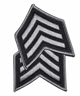 Chicago Police Tactical Sergeant Stripes 1 One Set