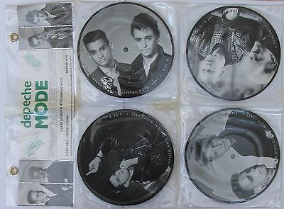 Depeche Mode - Baktabak limited edition 4 x picture discs with rare interview
