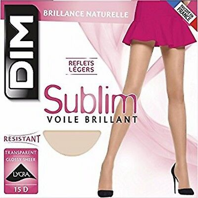 Collant Dim Sublim Voile Brillant Transparent Resistance+Douceur,collant Femme
