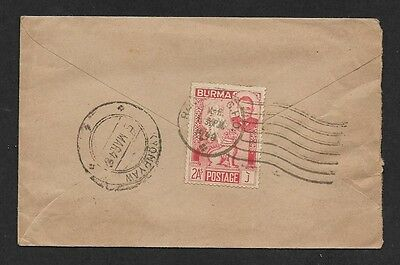 (111cents) Burma 1948 Cover