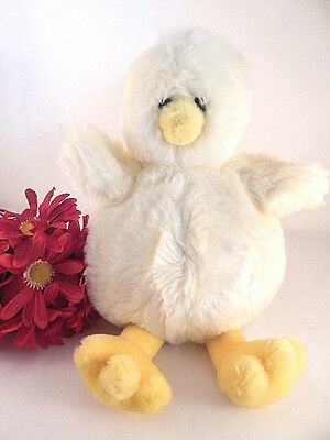 Yellow Duck Stuffed Plush Animal 13 Inch Baby Toy Spring Easter Decor
