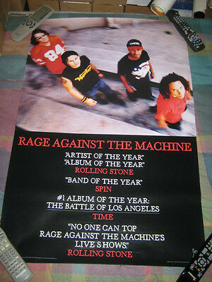 RAGE AGAINST THE MACHINE-(self titled)-1 POSTER-24X36-MINT-RARE