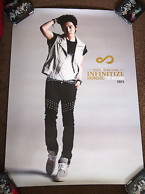 INFINITE Hoya - Infinitize Showcase : The Mission poster *SUPER RARE* Myungsoo L