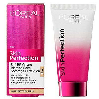 L'Oreal Skin Perfection BB Cream 5 IN 1 BLEMISH BALM 50ml SPF25 # MEDIUM