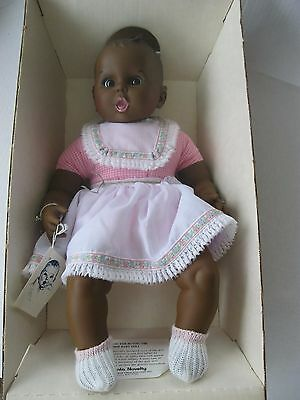 "17"" Gerber Baby African American Doll Complete"