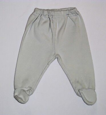 Your Choice of Color Sckoon Organic Cotton Ha-Ha Monkey Pants 6-12 mo