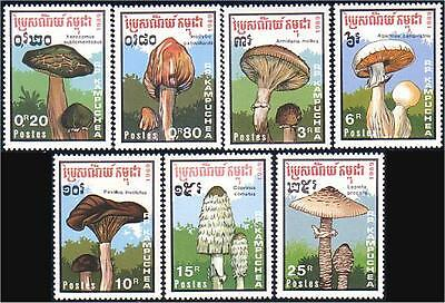 Cambodia Mushrooms MNH **  (57)