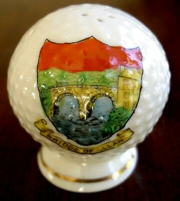 Bridge Of Allan. Golf Ball Crested China c. 1920s/30s? very good condition