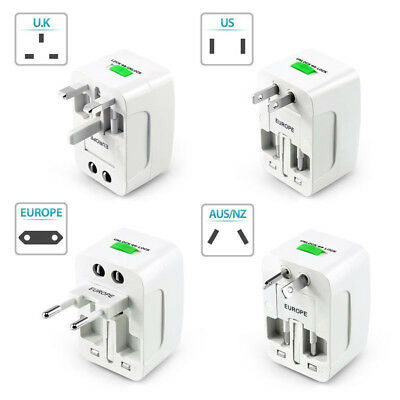 EU/AU/UK/US To All World Travel Power Convertor Plug Adapter Socket Universal