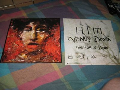HIM-(venus doom)-1 POSTER-2 SIDED-12X12-MINT-RARE