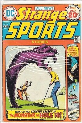 Strange Sports Stories #5 & 6 (1974 DC) Nick Cardy Cover Lot FN/VF