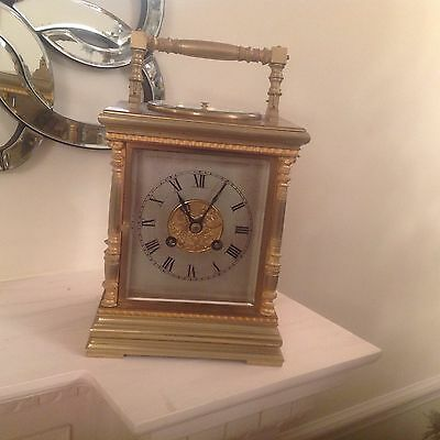 Japy Freres Large Carriage Mantel Clock