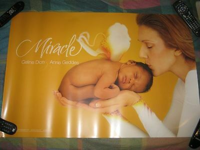 CELINE DION-(anne geddes-miracle)-24X36 POSTER-MINT-RARE