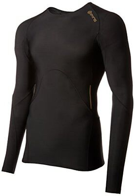 Skins A400 Top de compression manches longues Homme Or FR : XL (Taille Fabricant