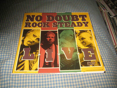 NO DOUBT-(rock steady)-1 POSTER FLAT-2 SIDED-RARE