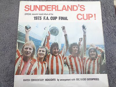 Sunderland Cup Official Souvenir Record Album Of The 1973 Fa Cup Final