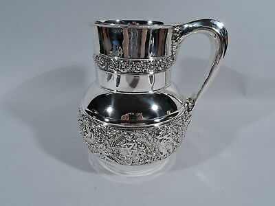 Tiffany Olympian Water Pitcher - 5066 - Antique - American Sterling Silver