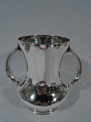 Wallace Trophy Cup - 438 - Antique Dolphin Handles - American Sterling Silver